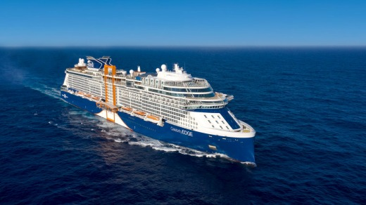 Celebrity Edge cruise ship.