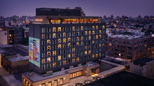 The Hoxton is in the heart of Williamsburg, the most happening neighbourhood in New York.