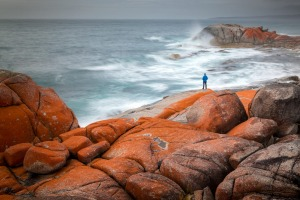 The Bay of Fires in Tasmania.
