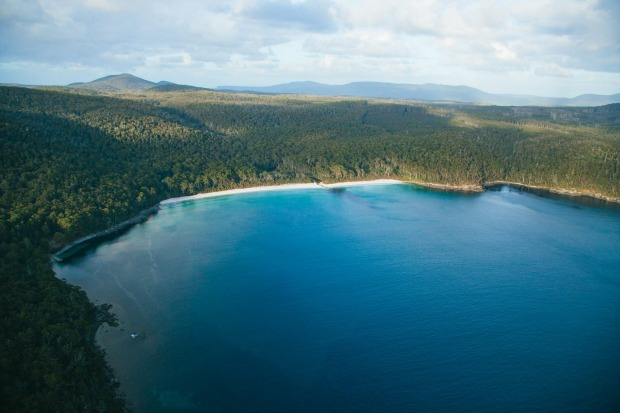 Fortescue Bay: A favourite summer campground, Fortescue Bay is cut deep enough into Australia's highest sea cliffs that ...