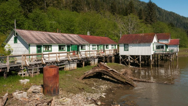 North Pacific Cannery National Historic Site, which remains largely intact from its heyday.