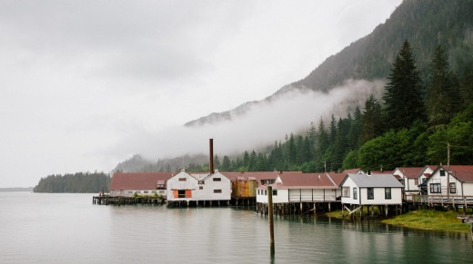The North Pacific Cannery has been reinvented as a museum.