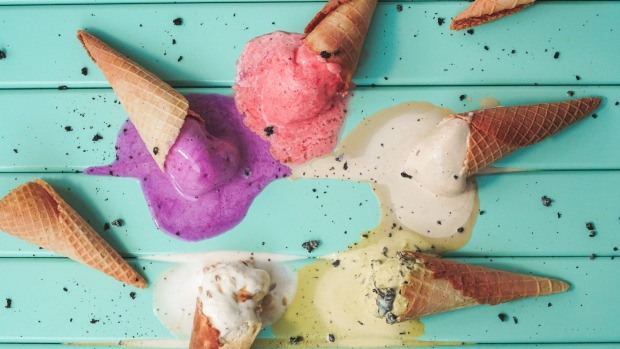 Isle of Gelato has an ever-changing array of flavours.