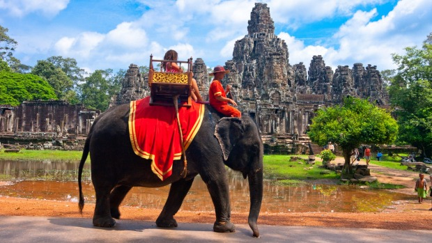 Elephant rides are no longer considered ethical.
