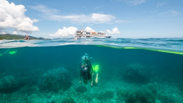 Diving in West Papua with Coral Discoverer