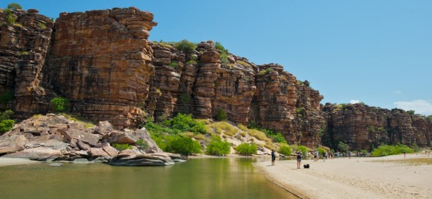 Marvel at remote Koolama Bay in the Kimberley.