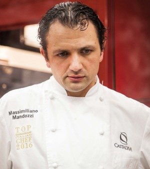 Massimiliano Mandozzi is Executive Chef at L'Orangerie restaurant at CastaDiva Resort & Spa in Lake Como.