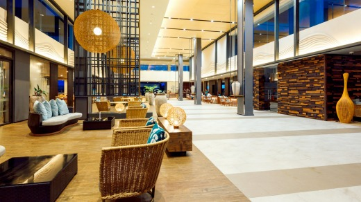 The Novotel Phu Quoc Resort's lobby.