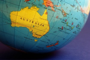 Australia is one of the largest countries in the world by area.