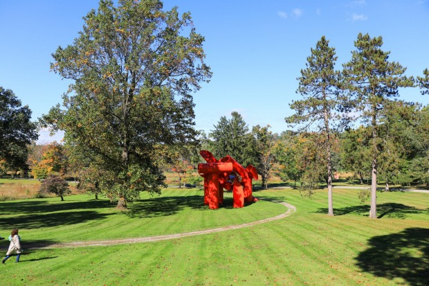 The huge sculpture garden at Storm King Arts Center, Duchess County: There's probably no better time to visit Storm King ...