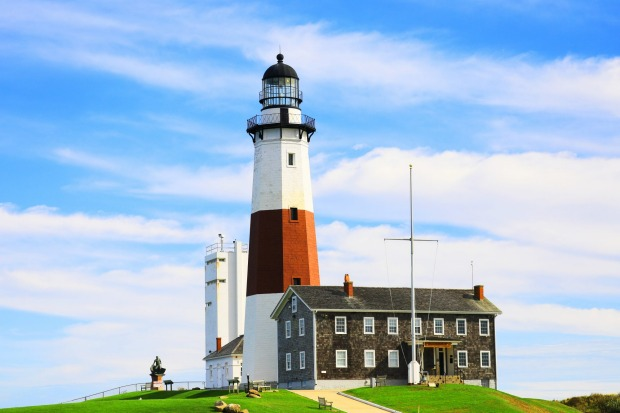 Montauk Lighthouse, Long Island: Right at the every end tip of Long Island, this small fishing and surfing community has ...
