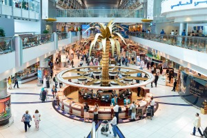 Dubai International Airport is the primary airport serving Dubai, United Arab Emirates.