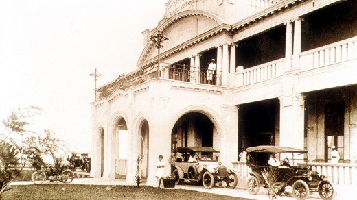 The legendary Grand Pacific Hotel, built in 1914, in its heyday.