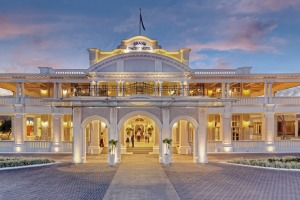 The Grand Pacific Hotel, Suva, Fiji, is a fine example of colonial history.