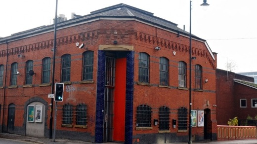 Tony Wilson`s former Factory Records building in Manchester.