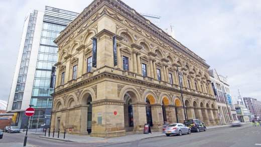 Manchester Free Trade Hall.
