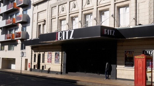 The HMV Ritz nightclub in Manchester..