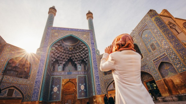Shah Mosque on Naghshe Jahan Square, Esfahan.