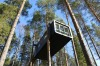 TREEHOTEL, SWEDEN: At Harads in northern Sweden, childhood notions of tree houses are reinvented in an extraordinary ...
