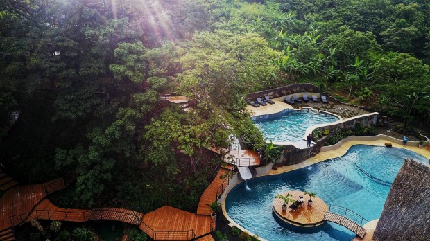 TREECASA RESORT, NICARAGUA: Smaller canopy suites and a larger two-storey tree house feature at this resort at San Juan ...