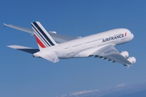 Air France Airbus A380 superjumbo.