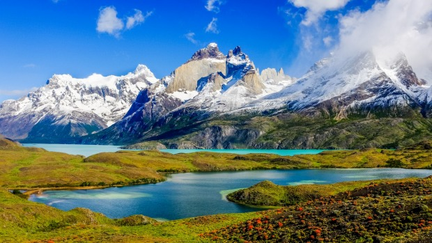 One of the most spectacular places on earth:  Patagonia, Torres del Paine National Park, Chile.