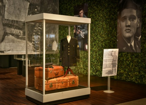 The museum also features his costumes and artifacts from his time in the military.