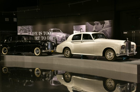 Elvis Presley's Memphis features a large collection of his vehicles, including some used in his movies.