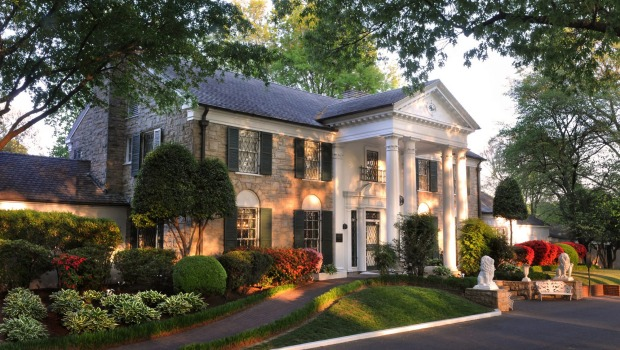Elvis bought the Graceland mansion for $US102,000 in 1957.