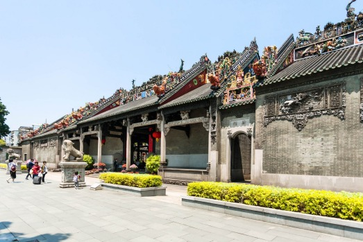 CHEN CLAN ACADEMY: The 1890s ancestral temple of the Chen family is the best and largest traditional structure in ...