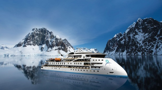The state-of-the-art expedition vessel Greg Mortimer is named after Aurora's co-founder.