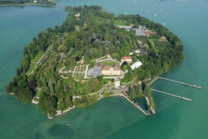 Mainau Island is only 45 hectares.