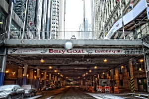 The Billy Goat Tavern is one of the stops on a bar crawl of some of the city's most colourful  drinking establishments.