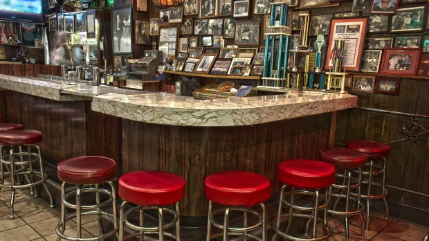 History oozes from the walls of Chicago's Billy Goat Tavern.