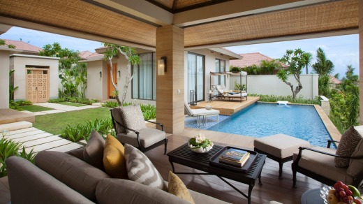 Private pool villa at Mulia.