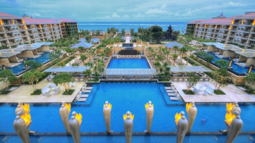 Bali S Mulia Resort More Than 1500 Guests What It S Like