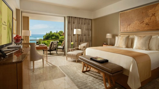 A room with balcony at Mulia, Bali.