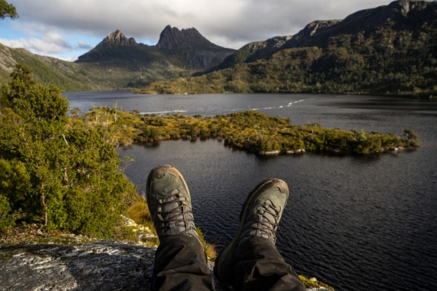 CRADLE MOUNTAIN: Nothing says 'stretch your legs' quite like the climb to the top of Tasmania's most famous mountain. ...