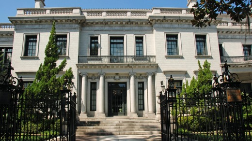 Italian Renaissance-style Armstrong House spent years as the offices of a grand law firm but is now being renovated as a ...