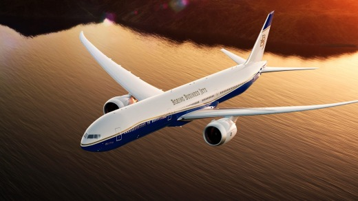 The Boeing 777X jets can fly more than 20,000 kilometres non-stop.