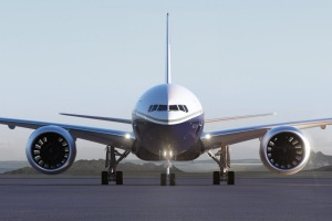 The 777-9, the first of the X family to be developed, will have the biggest jet engines ever seen, attached to the ...