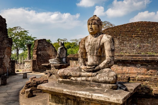 POLONNARUWA: Most famous for its large statues of Buddha forged out of granite, Polonnaruwa was built by King ...