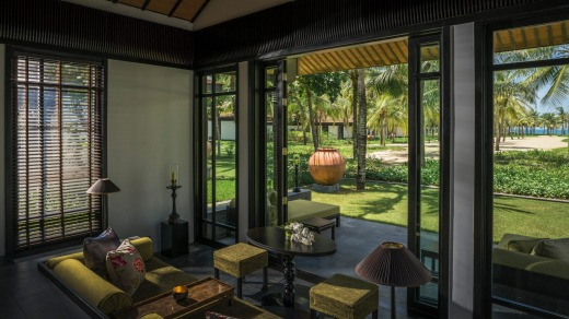 Four Seasons Nam Hai, Hoi An is a cocoon of impeccable luxury in Vietnam.