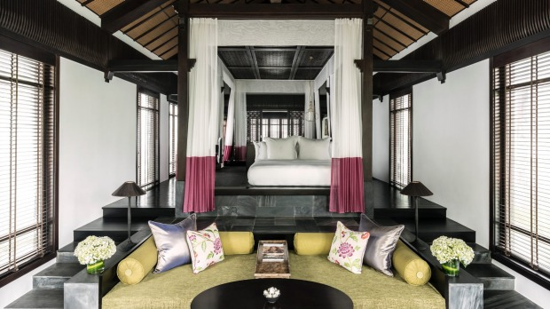 A villa at Four Seasons Nam Hai Hoi An.