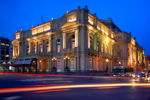 "THE OPERA HOUSE: To shed their past, during the ""Golden Age"" of Buenos Aires, 1880-1920, the Argentinians destroyed many ..."