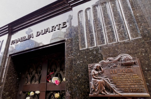 LA RECOLETA CEMETERY: This once was very much an out-of-town Buenos Aires district; the land belonging to a monastery. ...