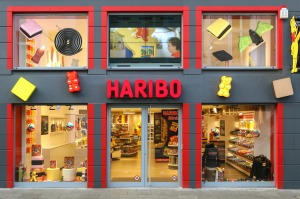 There's a bear in there ... Haribo's store in Bonn, Germany.