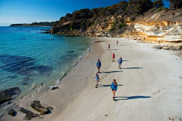 Maria Island, Tasmania: With cars banned, Maria Island is a paradise for walkers and cyclists.