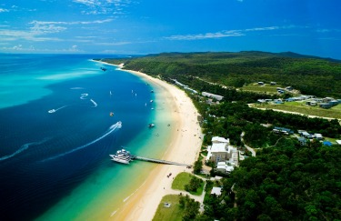 Moreton Island, QLD: A short ferry hop from Brisbane, Moreton Island is unashamedly all action.