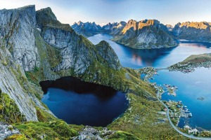 More travellers are signing up to cruise to far-flung destinations such as Norway's Lofoten Islands.
